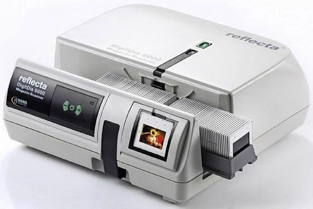 Dias leihweise scannen