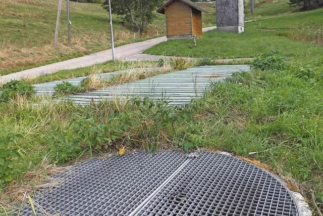 Investition in alte Kläranlage in Wehrhalden