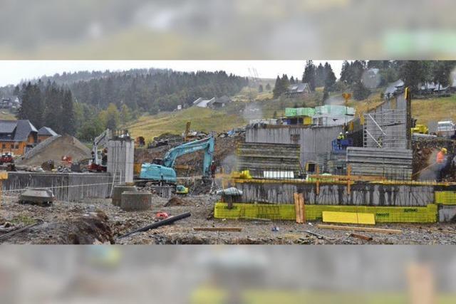 Zeiger-Sechsersesselbahn: Bau im Zeitplan - Bau wird ein wenig teurer