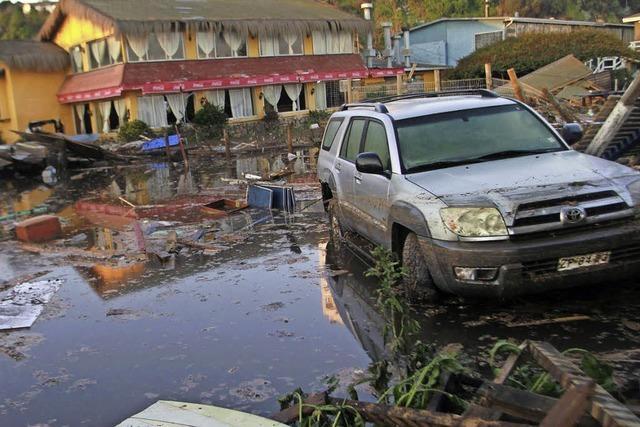 Erdbeben in Chile - 11 Menschen sterben