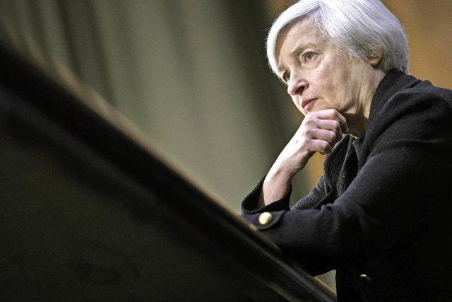 Chefin der US-Notenbank zögert die Zinswende hinaus