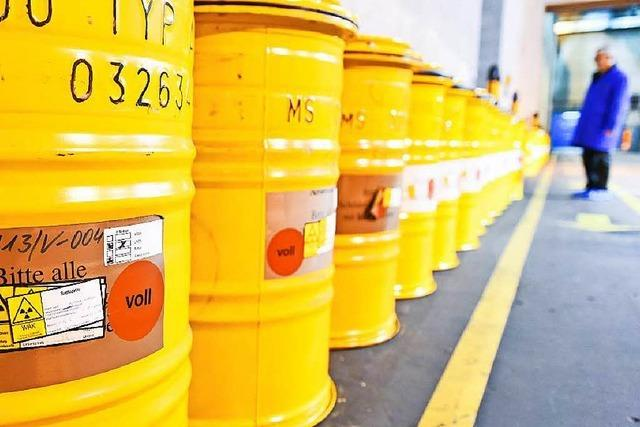 Atom-Müll der Uni Basel in die USA gebracht