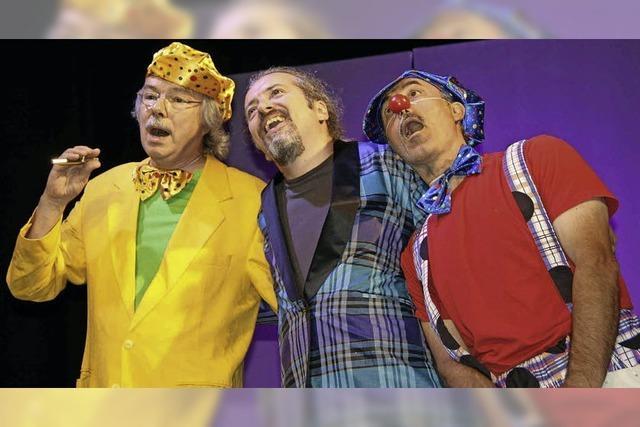 Volkskunstbühne und Zirkus Spiedo zeigen