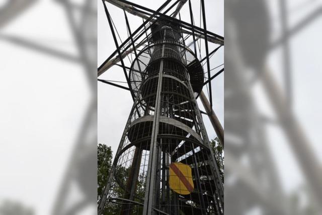 Der Eichbergturm steht im Rampenlicht