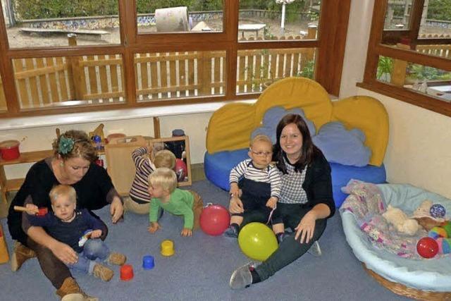 Neue Krippengruppe im Christopherus-Kindergarten
