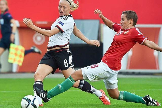 DFB-Frauen gelingt ein 12:0-Kantersieg gegen Ungarn