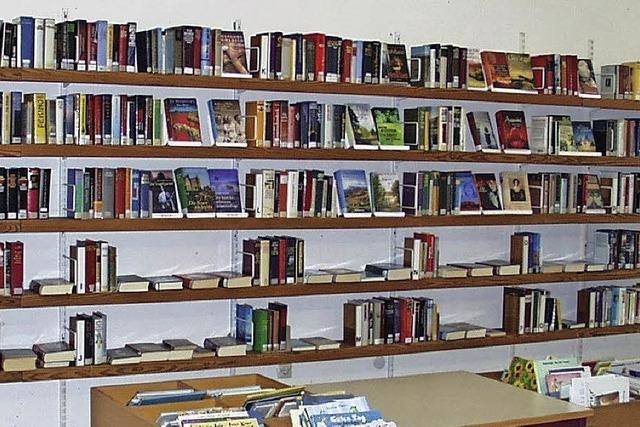Mehr Geld für die Bücherei