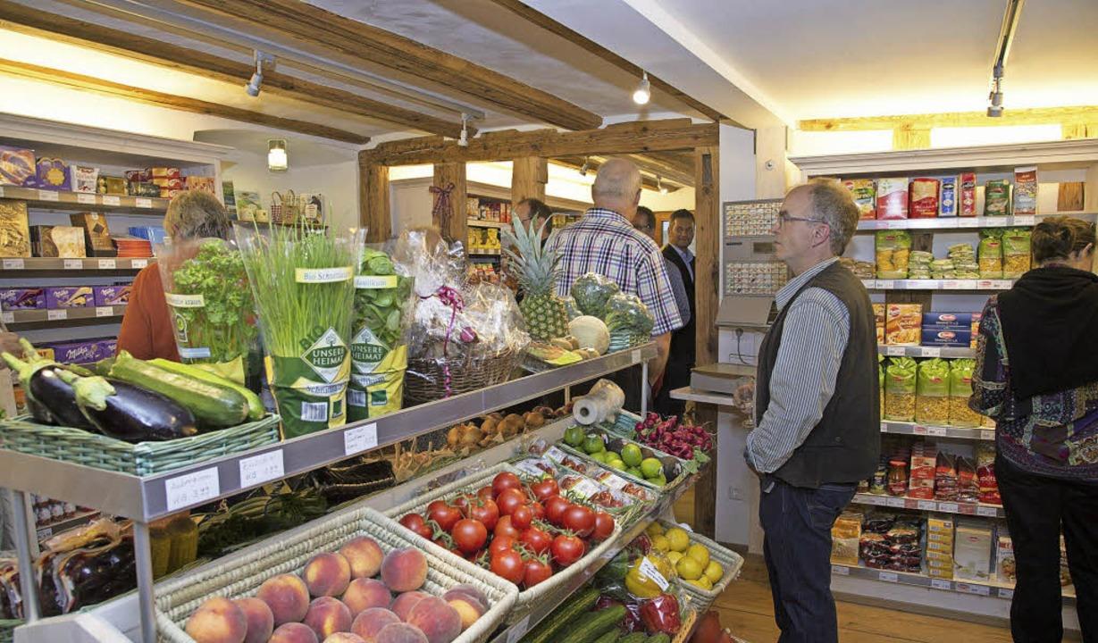 Im  neue Britzinger Dorfladen gibt es alles für den täglichen Bedarf.     Foto: Volker Münch