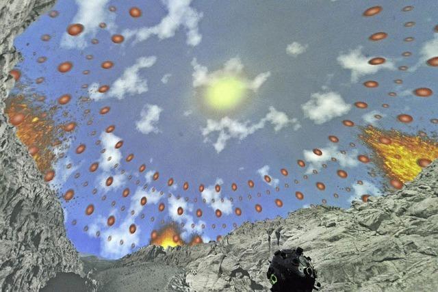 Wie das Team des Planetarium Freiburg eine 360°-Show produziert