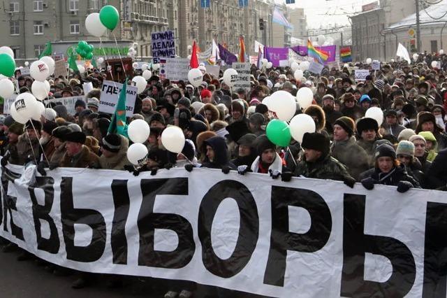 Russlands Opposition will am Sonntag wieder protestieren