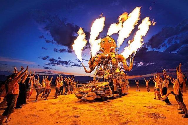 Burning Man: Ein Festival in der Wüste von Nevada