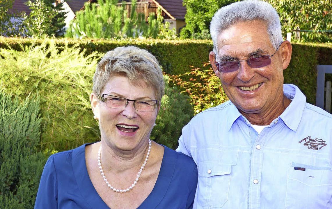 Inge und Helmut Kohler feiern goldene Hochzeit.   | Foto: frank Leonhardt