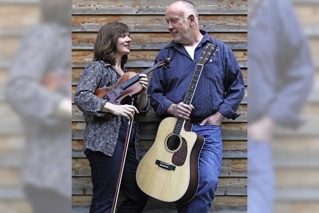 Das Duo Martanja spielt Celtic Folk in der Dammenmühle in Sulz