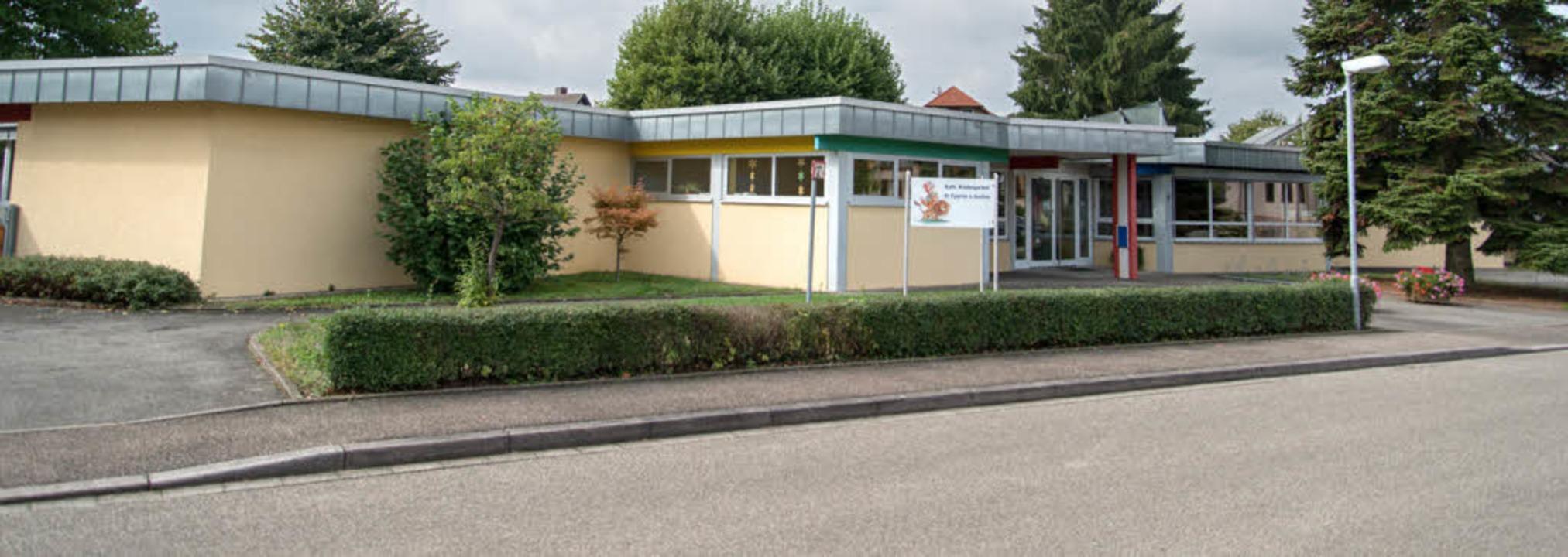 Vor 40 Jahren zog der Kindergarten aus...n Aktionen wird das Jubiläum begangen.  | Foto: Olaf Michel