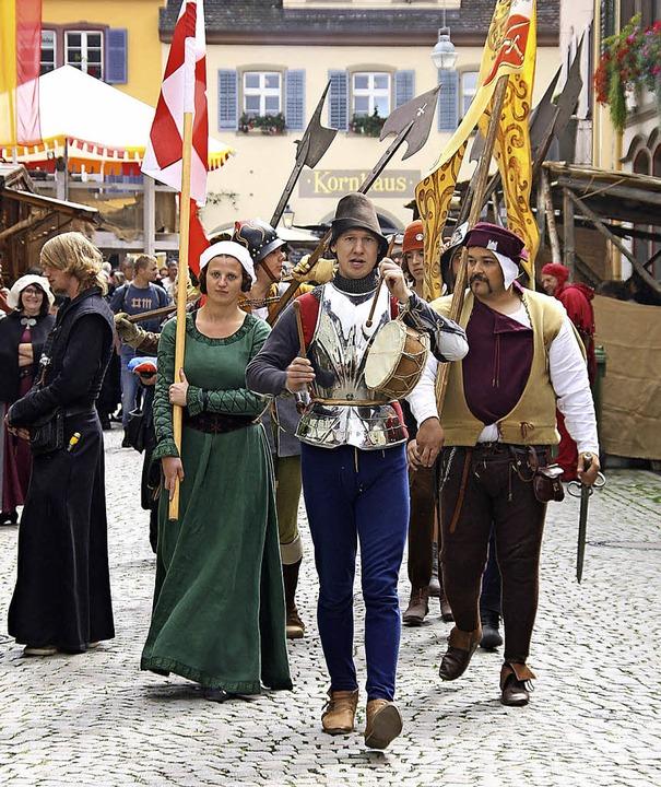 Bei den Stadtgeschichten (Stages) wurd...e alten Zeiten im Städtle auferstehen.  | Foto: Hans Jürgen Kugler