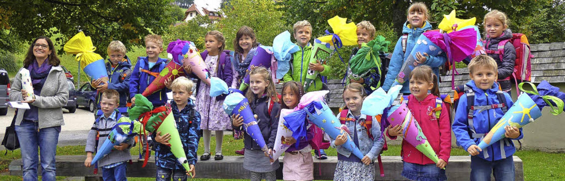 15 Kinder wurden in Breitnau eingeschult  | Foto: Sarah Beha
