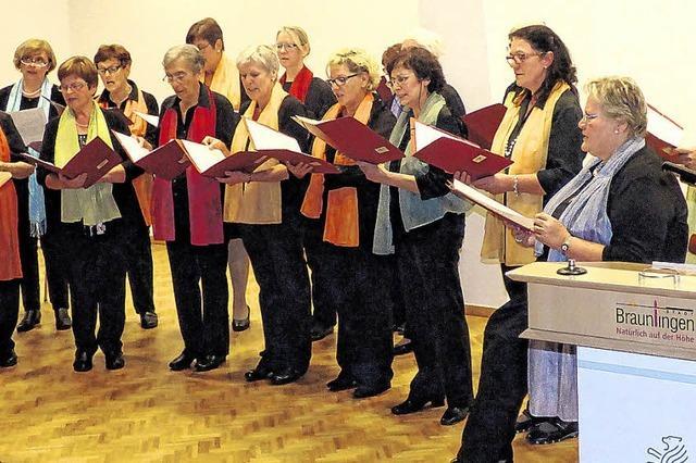 Jubiläum für den Frauenchor