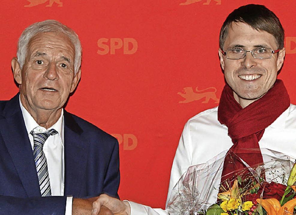 Rainer Stickelberger (links) und Philipp Schließer     Foto: Hege