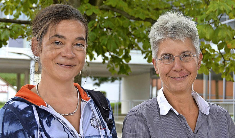 Susanne Einfeld und Birgit Förstner-Schauder (rechts)    Foto: Andrea Gallien