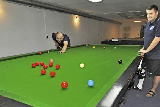 Billiard-Sportclub zieht ins ehemalige Keglerheim ein