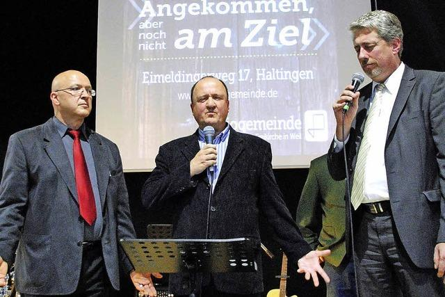 Evangelische Regio Gemeinde weiht neues Gemeindezentrum ein