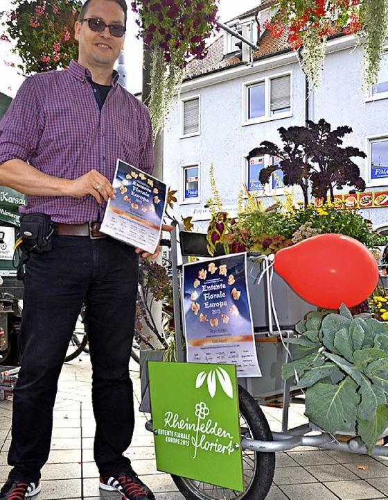 Der Erfolg fährt mit: Torsten Ehrentra...ktuell mit dem Entente-Gold dekoriert.    Foto: Ingrid Böhm-Jacob
