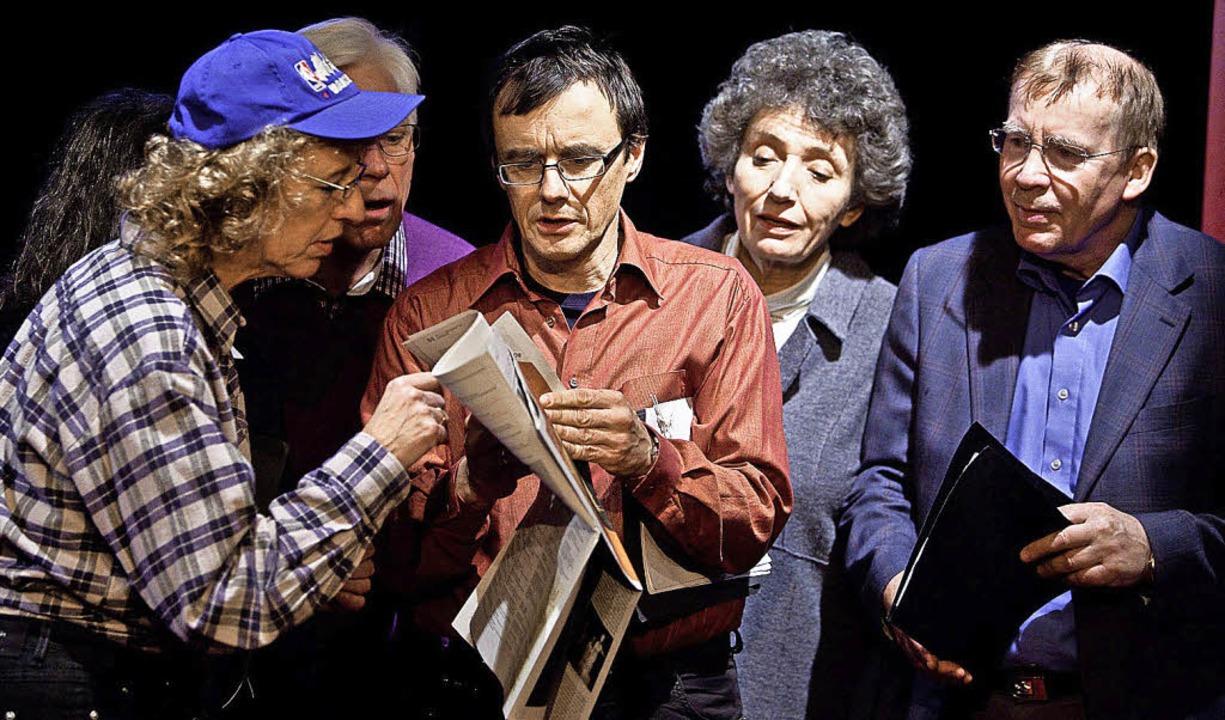 Eifrig dabei: die Experten vom Richterkabarett  | Foto: Pro