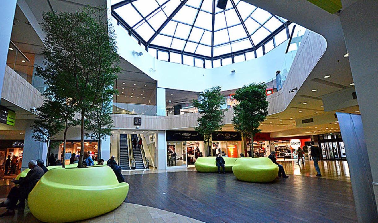 Nobel Einkaufen in Les Halles    Foto: bri