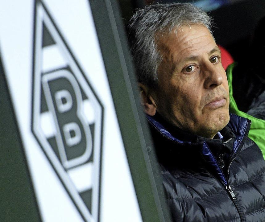 Trauriges Ende einer Liebesbeziehung: Borussia und Favre sind getrennt.   | Foto: dpa