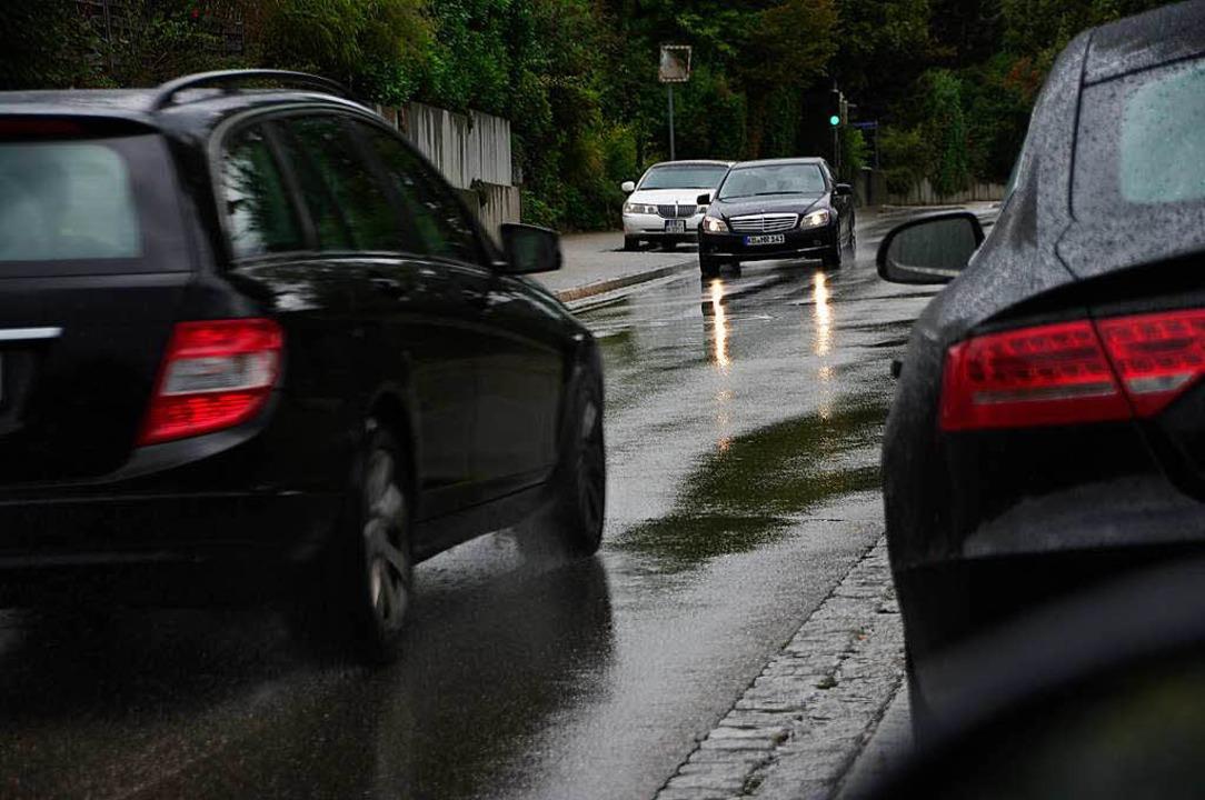 Der viele Verkehr auf der Johanniterst...der Nordumgehung eines der  Argumente.    Foto: Martin Pfefferle