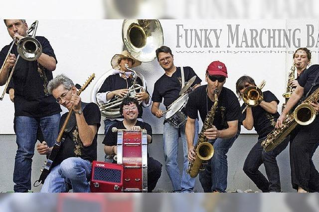 Funky Marching Band in Schallstadt