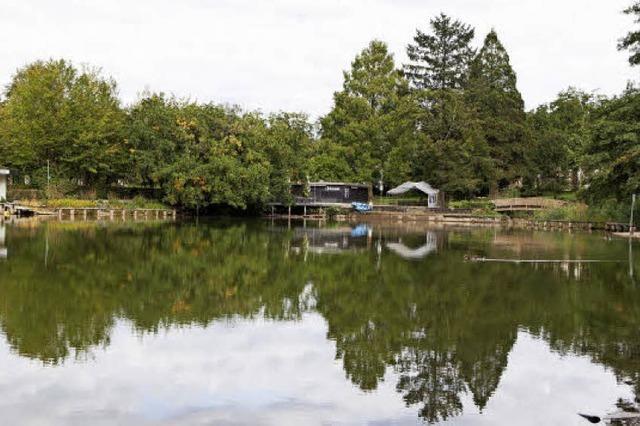 Der Stadtrainsee wird sich jetzt wieder erholen