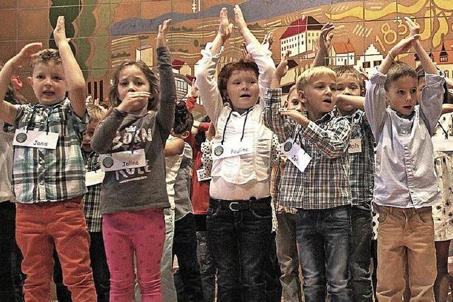 Nur wenige Flüchtlinge unter den Schulkindern