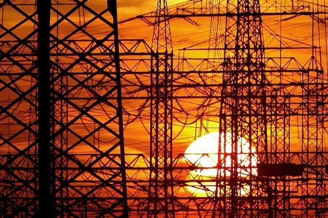Podium zur Energiewende