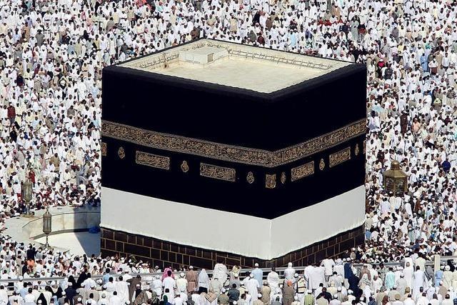 Millionen Muslime werden zur Wallfahrt nach Mekka erwartet