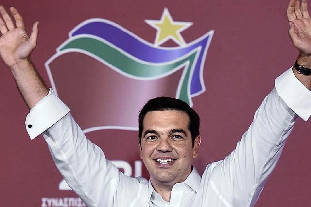 Tsipras als Premier vereidigt