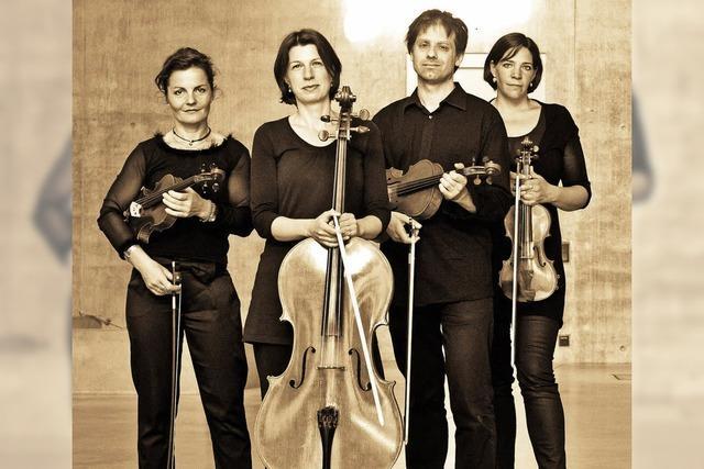 Das Janus-Ensemble und Katharina Müther (Gesang) im Tuniberghaus Freiburg-Tiengen
