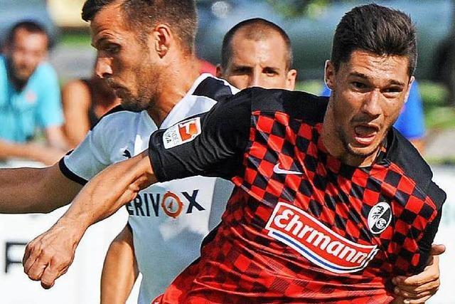 SC Freiburg: Tim Kleindienst zurück im Training