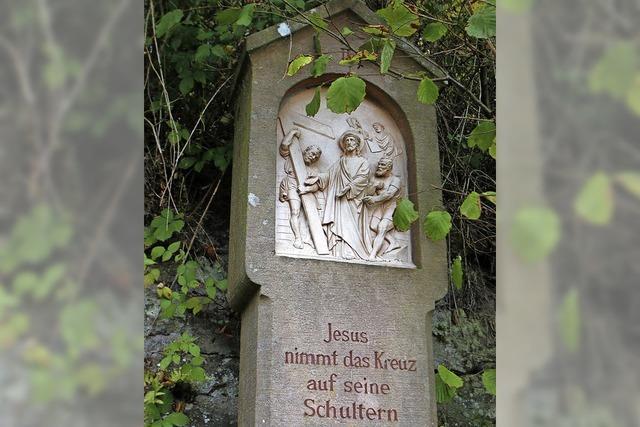 Junge Nazi-Schergen zerstörten Kreuzwegbilder