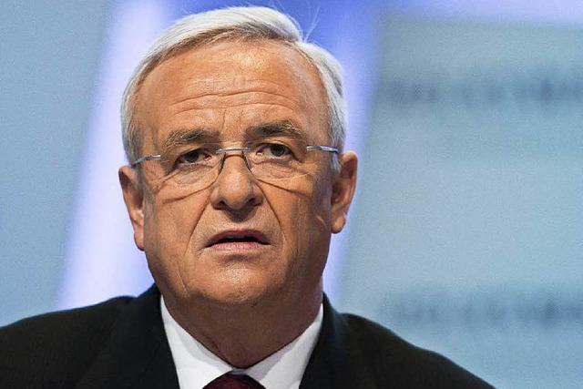 VW: Winterkorn entschuldigt sich und will weitermachen