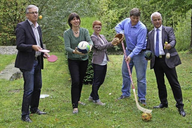Rund 1000 sportliche Kinder beleben den Bürgerpark