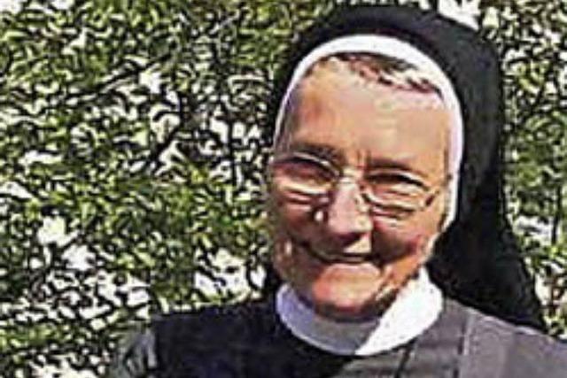 Schwester Friedlinde hinterlässt eine große Lücke