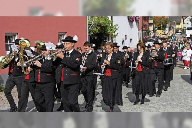 Prozession zu Ehren eines Märtyrers