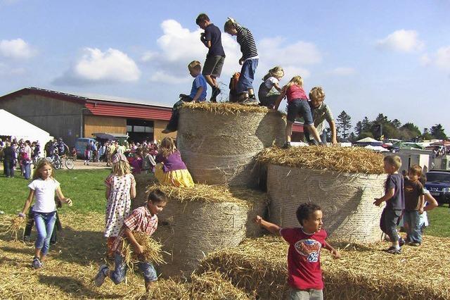 Weidefest und Bauernmarkt