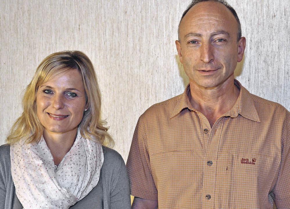 Manuela Eckert und Markus Wagner waren...n in der Bläserjugend Hotzenwald auf.   | Foto: Kirsten Lux