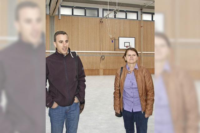 Sporthalle ist bald Flüchtlingsheim