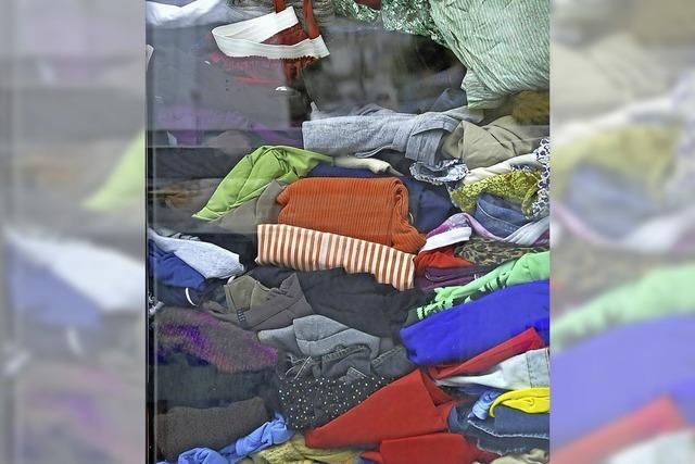 Neues Kleiderlager geplant