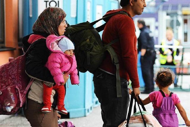 Bad Krozingen übernimmt 530 Flüchtlinge