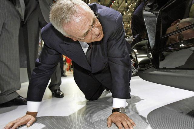 Martin Winterkorn will VW-Chef bleiben