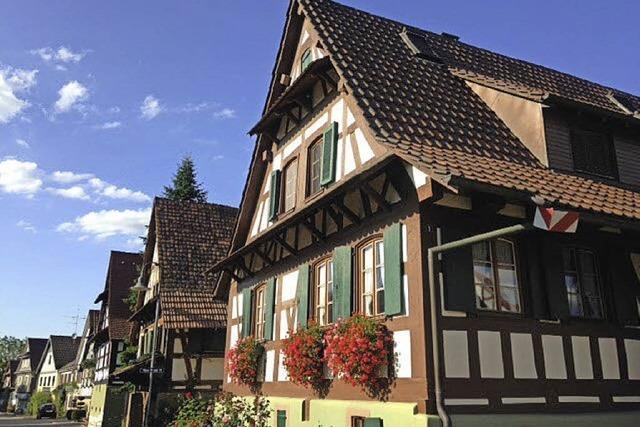 Schmucke Dorfidylle in Vörstetten